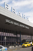 Vaclav Havel Airport — Stock Photo