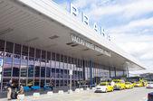 Vaclav aeropuerto havel — Foto de Stock