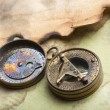 Old paper and compass — Stock Photo #48595089
