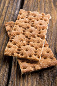 Rye Crisp Bread — Stock Photo