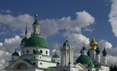 Rosja. rostów wielki. klasztor spaso-yakovlevsky — Zdjęcie stockowe
