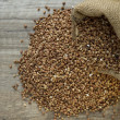 Buckwheat seeds — Foto de Stock