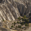 Geological Features in Cappadocia, Turkey — Stock Photo