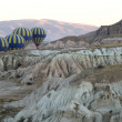 Hot Air Balloons in Cappadocia — Stock Photo