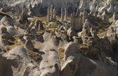 Panorama of Love Valley. Cappadocia, Turkey — Stock Photo