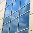 Clouds refletion — Stock Photo