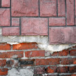 Old grunge brick wall — Foto de stock #21734435