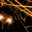 Nice sparklers background — Stock Photo
