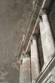 Vintage image of greek columns — Stock Photo