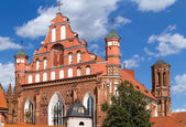 Bernardine Church in Vilnius, Lithuania — Stock Photo