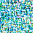 Colorful square pixels abstract pattern background. — Stock Photo #13600416
