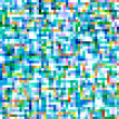Colorful square pixels abstract pattern background. — Stock Photo