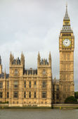 Big Ben Elizabeth tower Houses of Parliament London. — Stock Photo