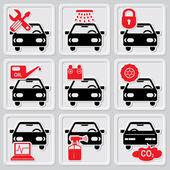 Auto repair icons — Stock Vector