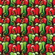 Paprika background - Stock Vector