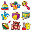Set toys — Stock Vector #24402555