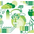 Eco infographics - Stock Vector