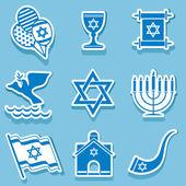 Israel symbol — Stock Vector