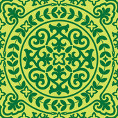 アジアの seamles の飾り — ストックベクタ