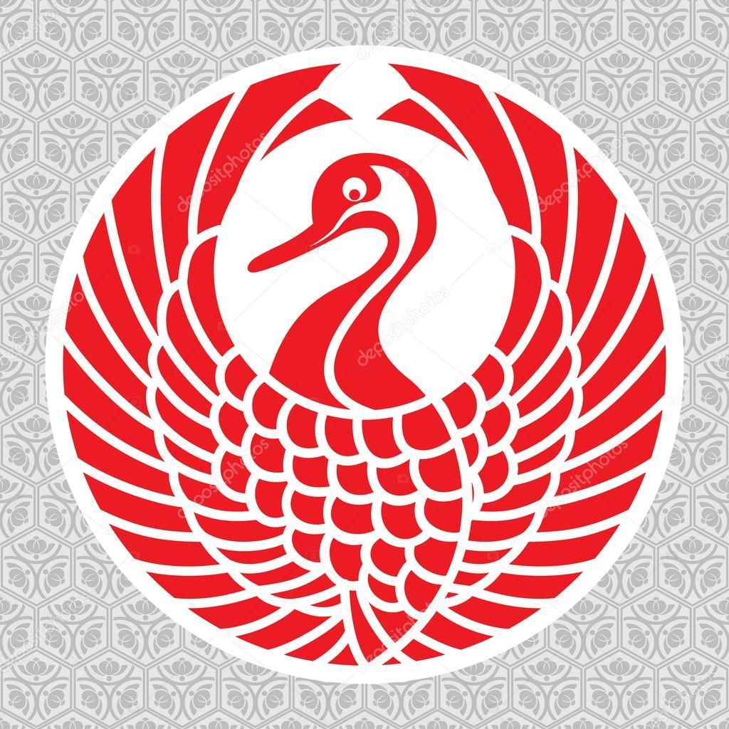 japanese crane symbolism Gallery - photo#36