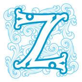 зимний урожай письмо z — Cтоковый вектор