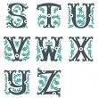 Vintage alphabet. Part 3 — Stock Vector #38845157
