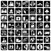 Set travel icons — Stockvector