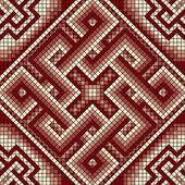 Classic Greek ornament seamless — ストックベクタ