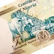 Nigerian banknotes — Stock Photo