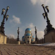 Russia. Moscow. Church of the Holy Trinity. — Stock Video