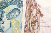 Laos  Banknotes Kip — Stock Photo