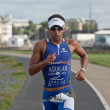 Athlete Antonio Jesus Aguilar Conejo (496) - Stock Photo