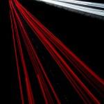 Car lights trails — Stock Photo #1312616