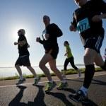 Runners, marathon — Stock Photo #13667496