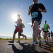 Runners, marathon - Stock Photo