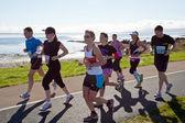 Runners, marathon — Stock Photo