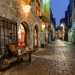 Old city street at night — Stock Photo #19724669