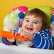 Baby boy with carrot — Stock Photo #23593971