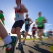 Stock Photo: Runners, marathon