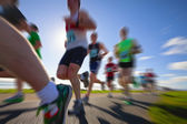 Runners, marathon — Stock Photo