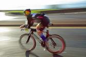 Athlet binicilik bisiklet — Stok fotoğraf