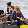 All Ireland Currach Racing - Stock Photo