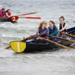 All Ireland Currach Racing — Stock Photo