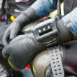 Scuba diver,  detail. — Stock Photo