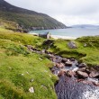 Achill Ireland, view at Keem beach. — Stock Photo