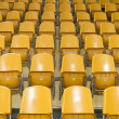 Seats at stadium - Foto Stock