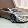 MOSCOW-SEPTEMBER 4:The European premiere of Peugeot HX1 Concept at the Mosc - 