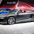 MOSCOW-SEPTEMBER 4: Audi R8 at the Moscow International Motor Show on Septe - Zdjęcie stockowe