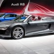 MOSCOW-SEPTEMBER 4: Audi R8 at the Moscow International Motor Show on Septe - Stok fotoğraf
