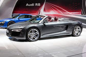 MOSCOW-SEPTEMBER 4: Audi R8 at the Moscow International Motor Show on Septe — Stok fotoğraf